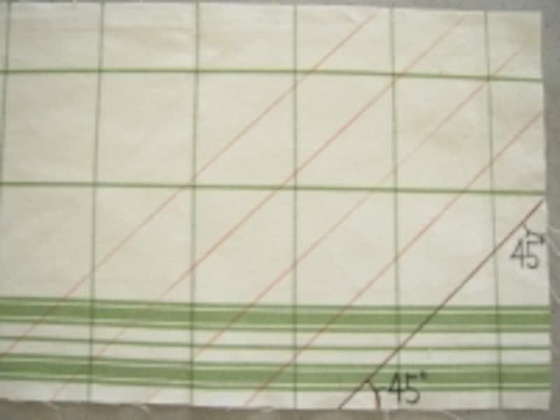 テープ幅は、必要に応じて調節してください。出来上がりに必要な幅に、折り返し部分の幅が必要になります