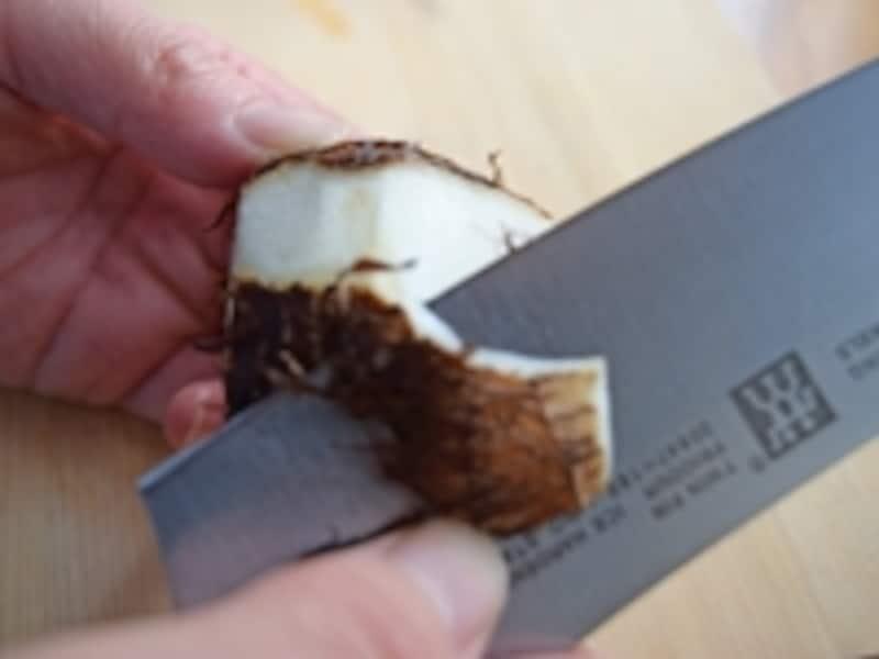 里芋の皮のむき方