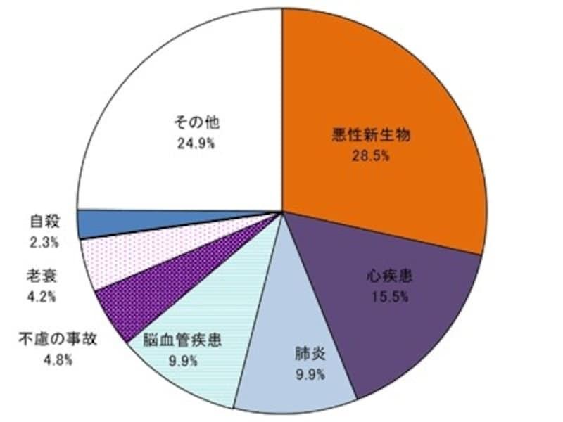 死因の円グラフ