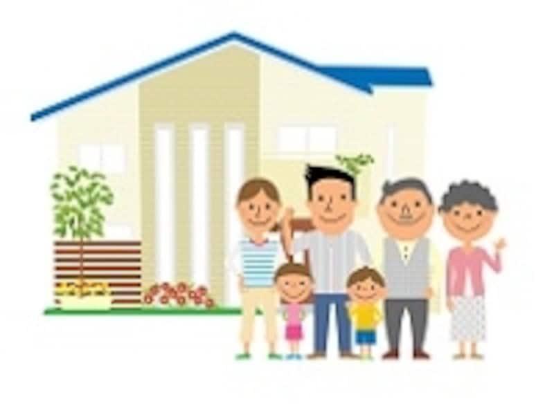 家族が住み続ける自宅の土地は、相続税評価を下げてくれるんだね!