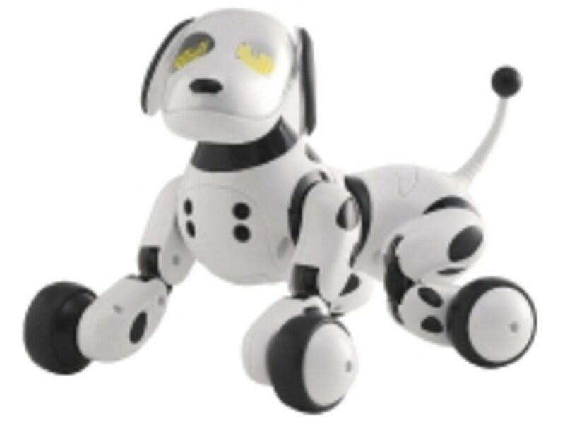 言葉に加え、手やボールの動きにも応えてくれるロボット犬