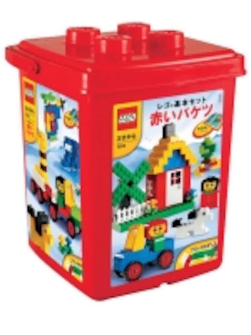 ブロックの代表格のレゴ。まずはこのセットから