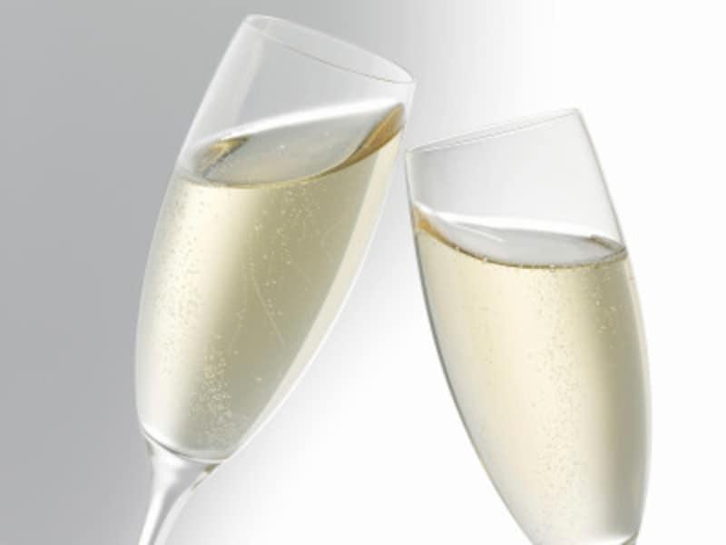 乾杯には、やはりシャンパンが似合う