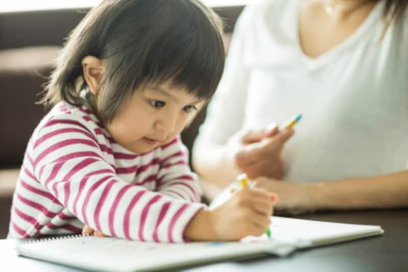 お受験で合格する子ども