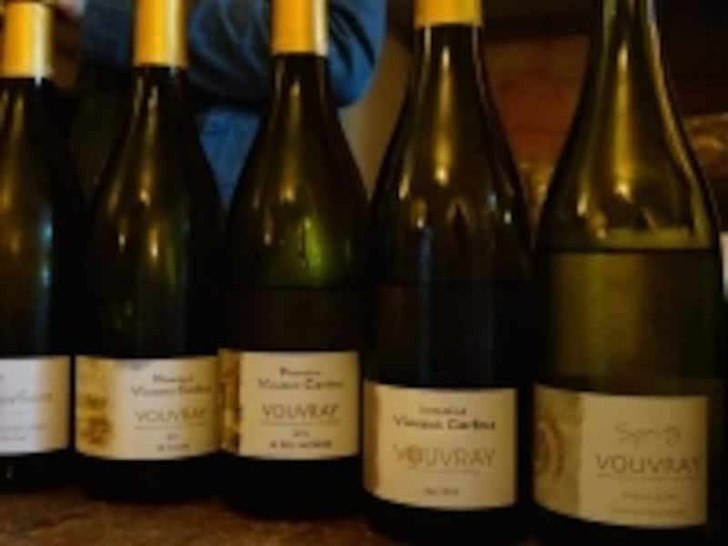 フランス、ロワール地方のヴーヴレイは、シュナン・ブラン100%