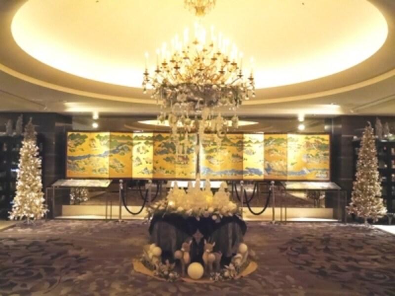 ホテルインターコンチネンタル東京ベイのロビー