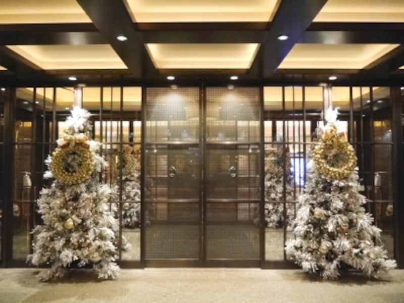 ホテルインターコンチネンタル東京ベイの玄関