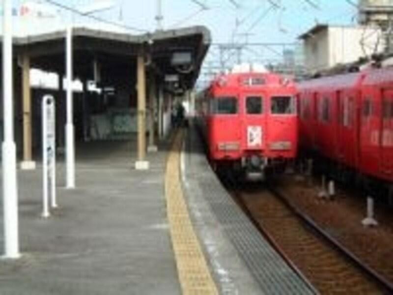 名鉄で豊田市駅へ