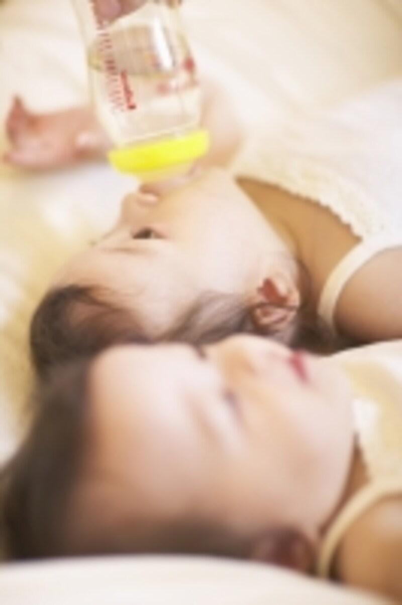 赤ちゃんと水