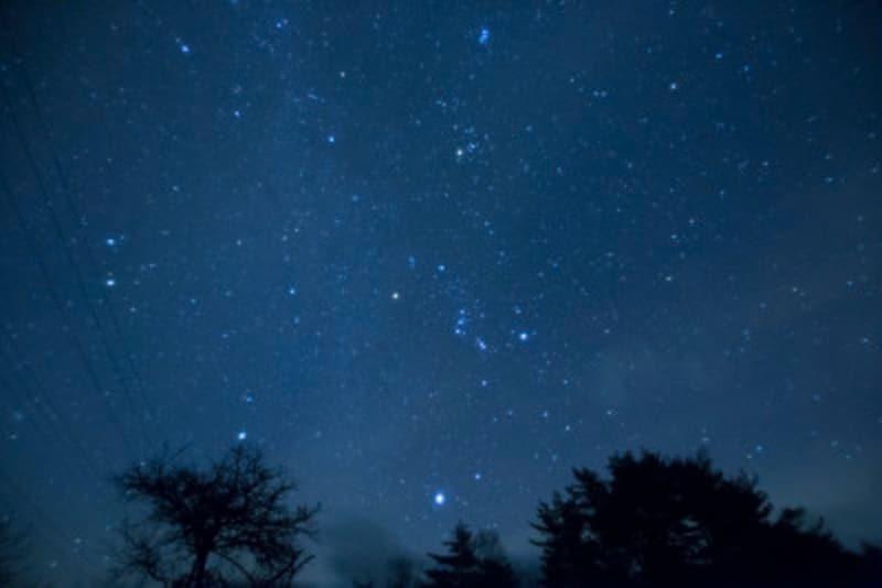 星空,冬,天体観測,星,カメラ,撮影,星空観察,夜空,おすすめ,夜景,夜景スポット,星座,オリオン座