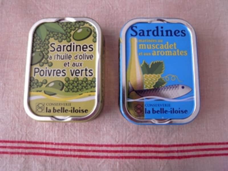 フランス、ブルターニュ地方のオイルサーディン缶です。