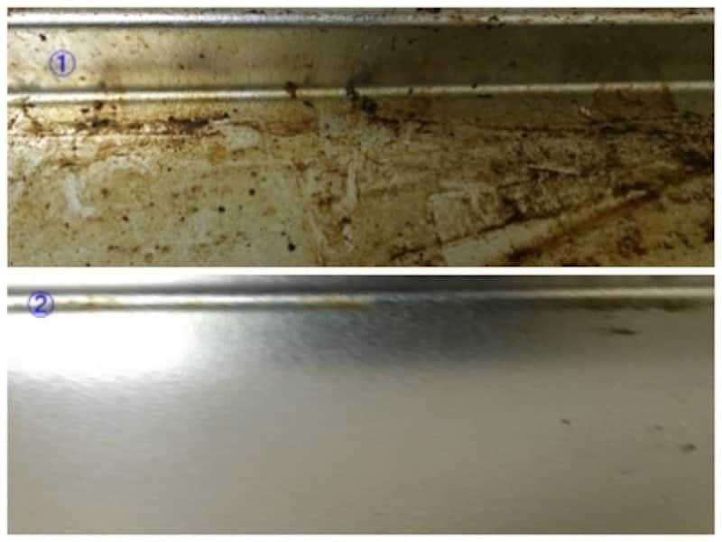 古くて固まってしまった油汚れの大掃除にはスチームクリーナーが便利