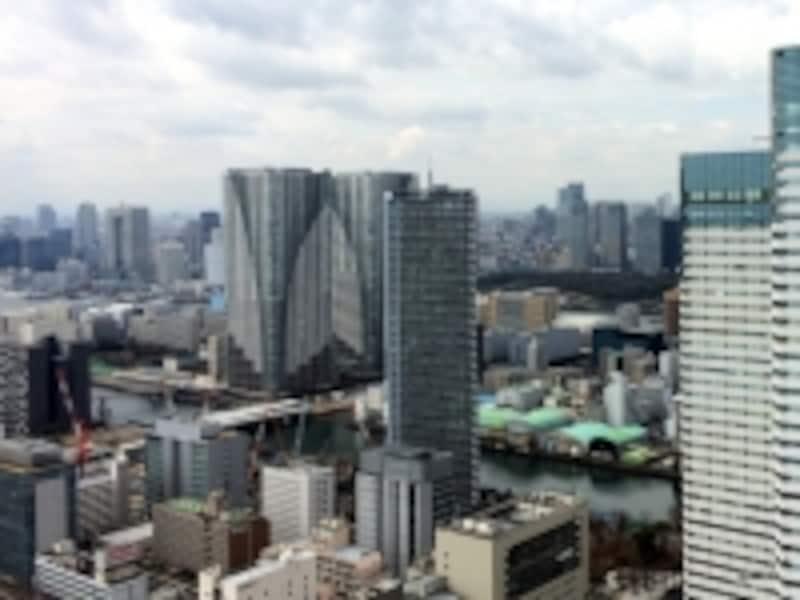 タワーマンションからの眺望
