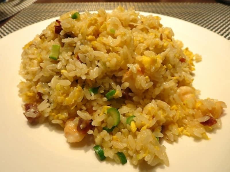 タラバ蟹肉海老叉焼入り炒飯
