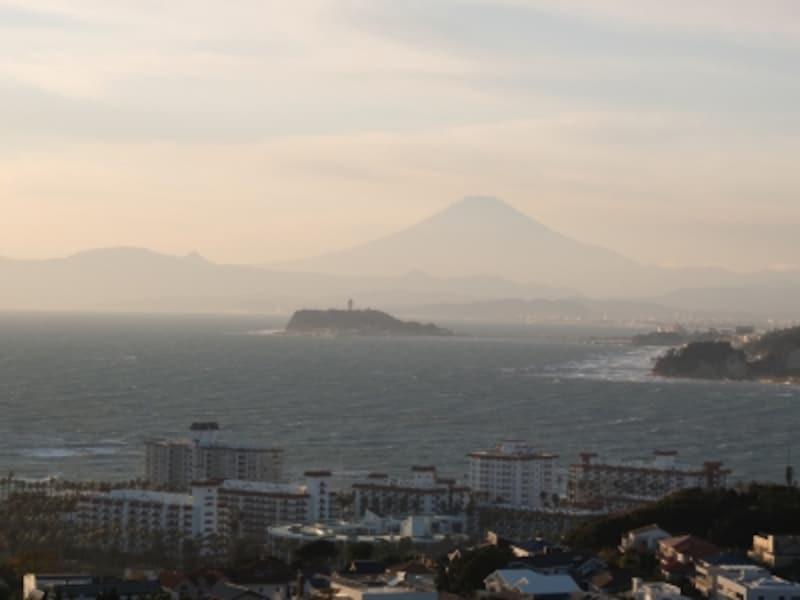 披露山公園展望台からの眺め
