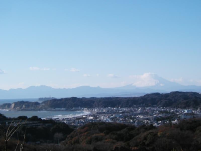 パノラマ台からの鎌倉の眺め
