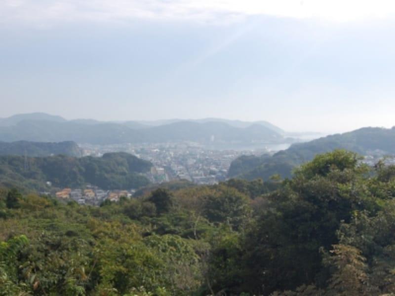 パノラマ台からの逗子の眺め