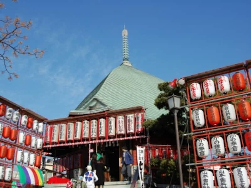 本覚寺の「夷堂」