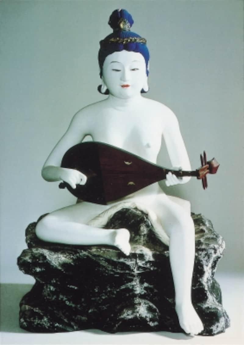 「妙音弁財天」(写真提供:藤沢市観光協会)