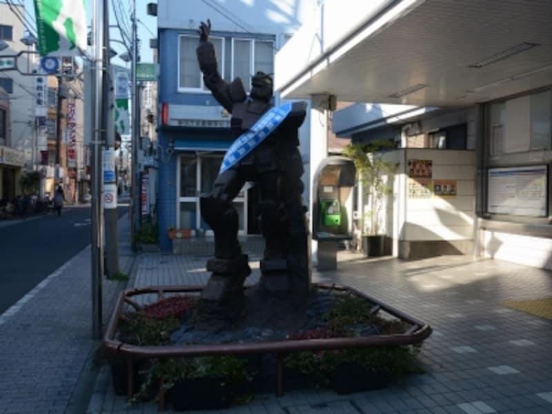 機動戦士ガンダムの銅像