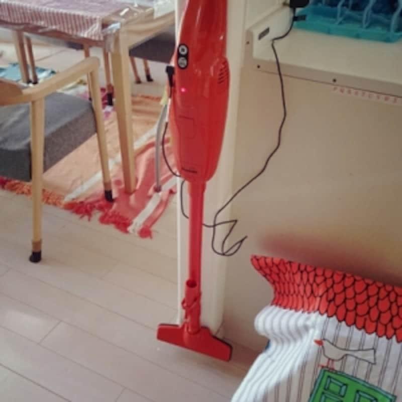 スティック掃除機の収納場所