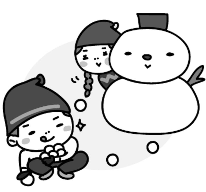 22 スキースノボ雪合戦冬スポーツの無料イラスト Web素材 All About