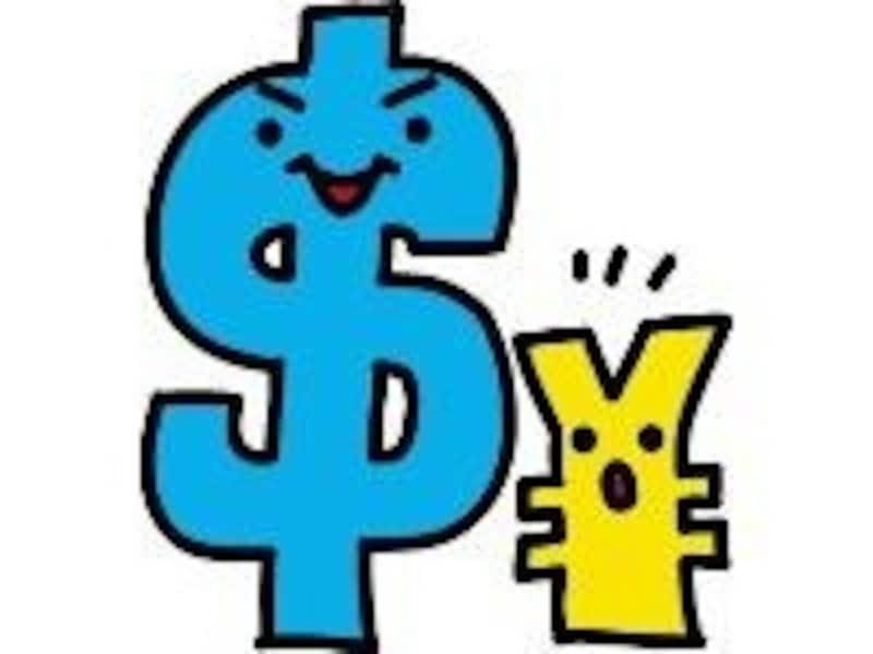 円安(ドル高)は、円の価値が小さくドルの価値が大きい状態
