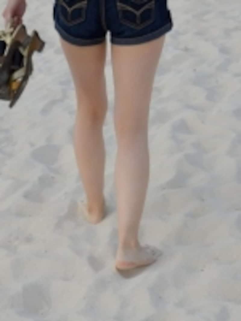 脚の美しさは長さや太さだけ?