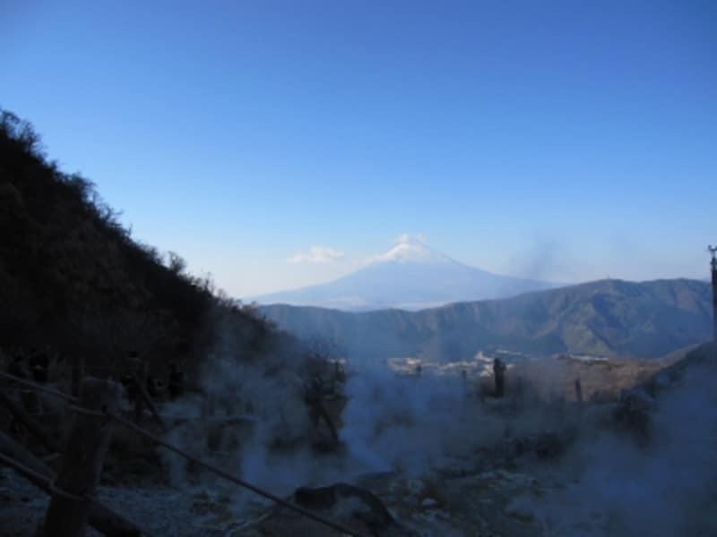 大湧谷からの景色