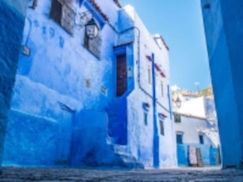 青と白のシャウエン