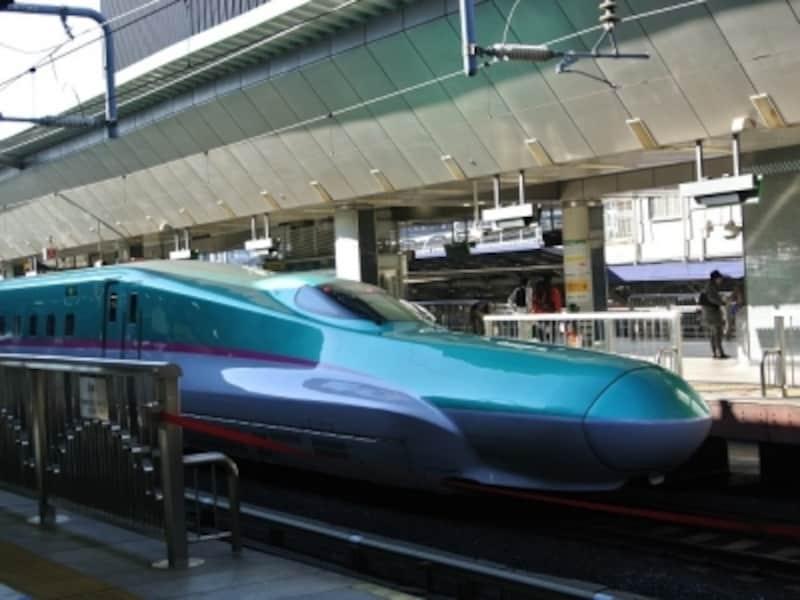 東京から仙台は約1.5時間。時間が合えば「はやぶさ」にも乗れます!