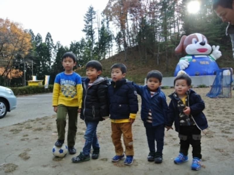 森林スポーツ公園で、大人も子どももめいっぱい遊びました!グループ旅行にもおすすめ