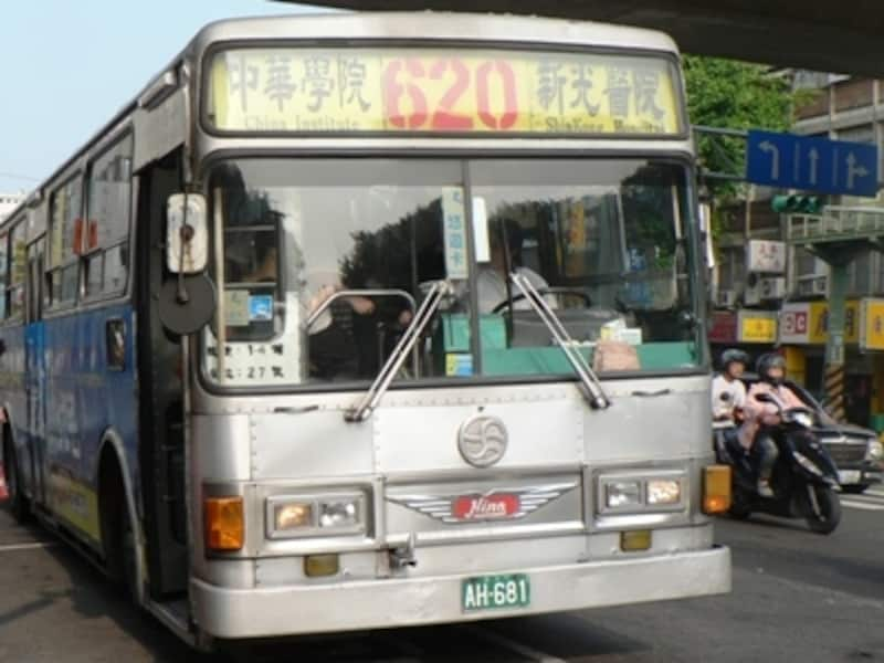 台北の路線バスは、バス番号が重要!利用するバス番号のバス停があるかどうかも必ずチェックしましょう