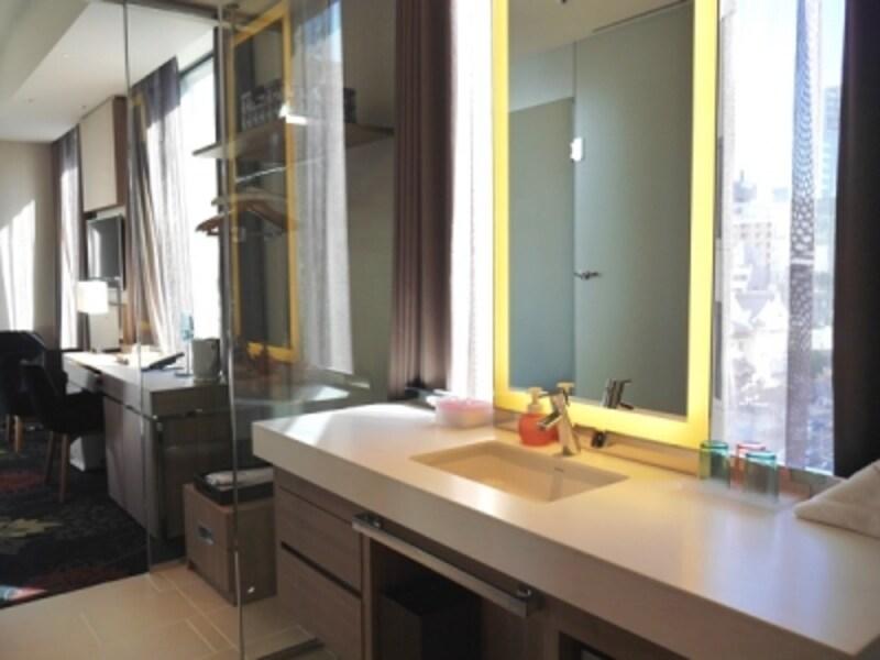 バスルームとは別の洗面台