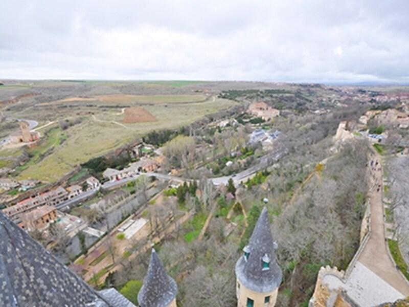 アルカサル、フアン2世の塔からの眺め