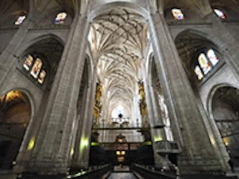 セゴビア大聖堂の身廊