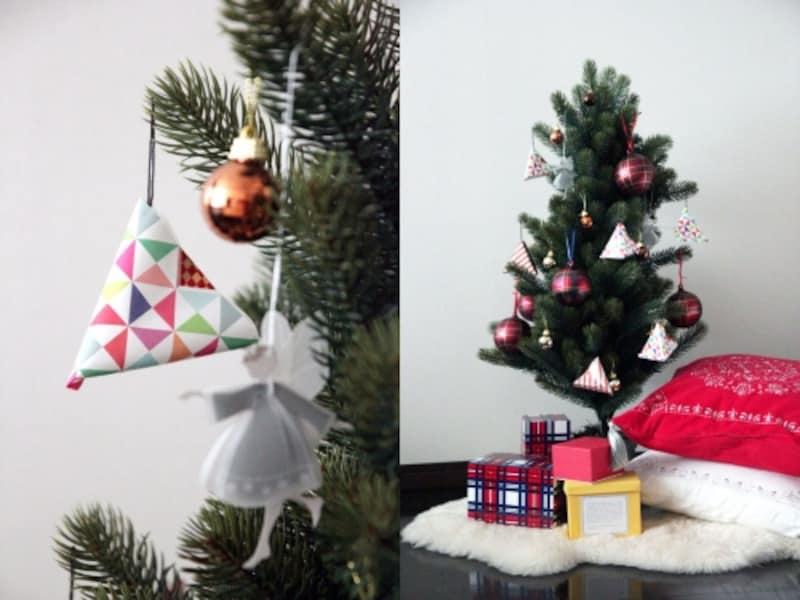 300円でクリスマスツリーをドレスアップ