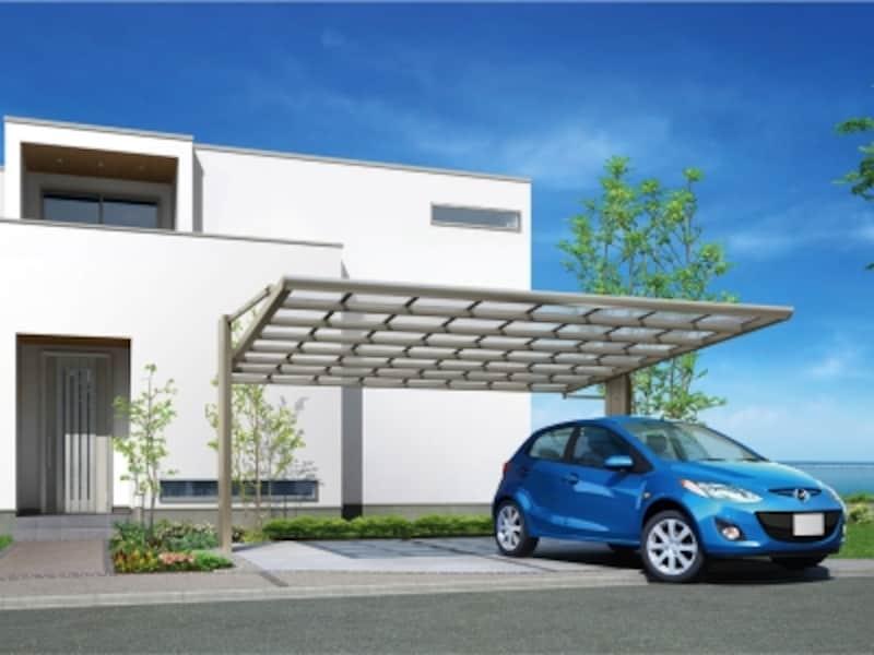 カーポート「アーキフラン」ワイドundefined施工例