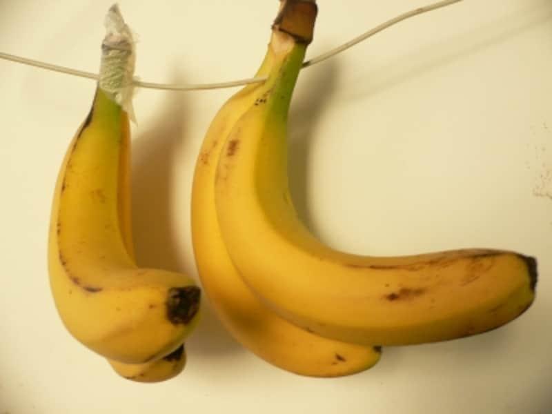 バナナの保存法:常温で保存すると?