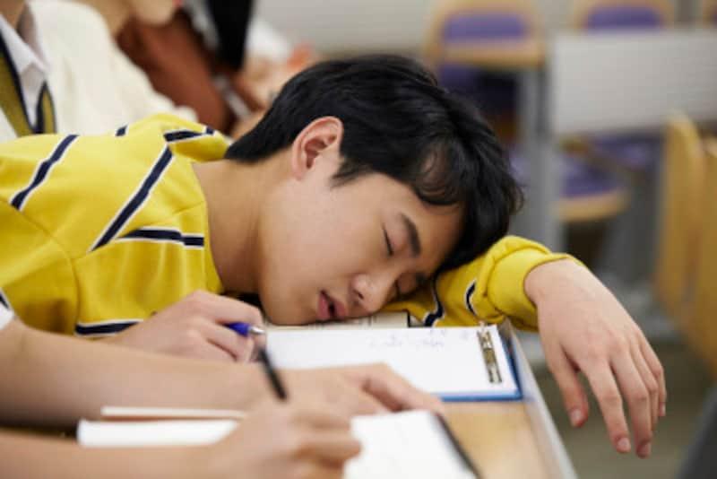 中学受験追い込み期間中も、適切な睡眠時間を確保