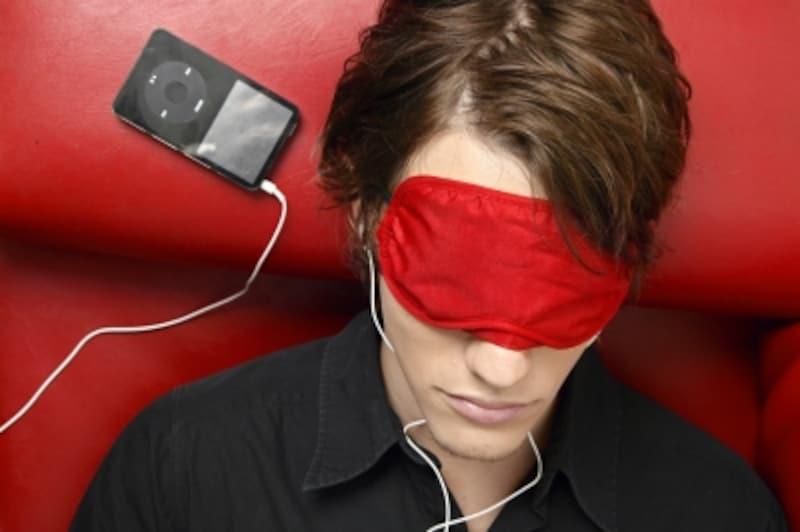 音楽の力を借りて睡眠モードに