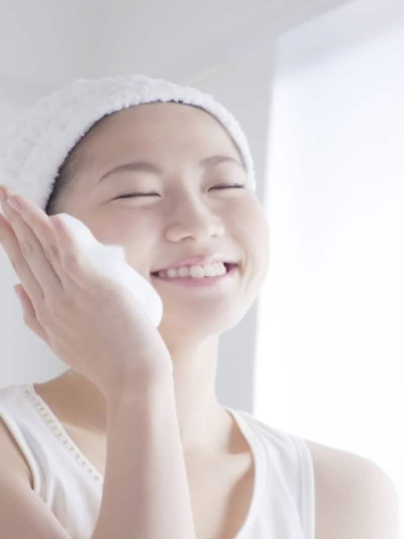 早く終わらせたい洗顔が実は大切。