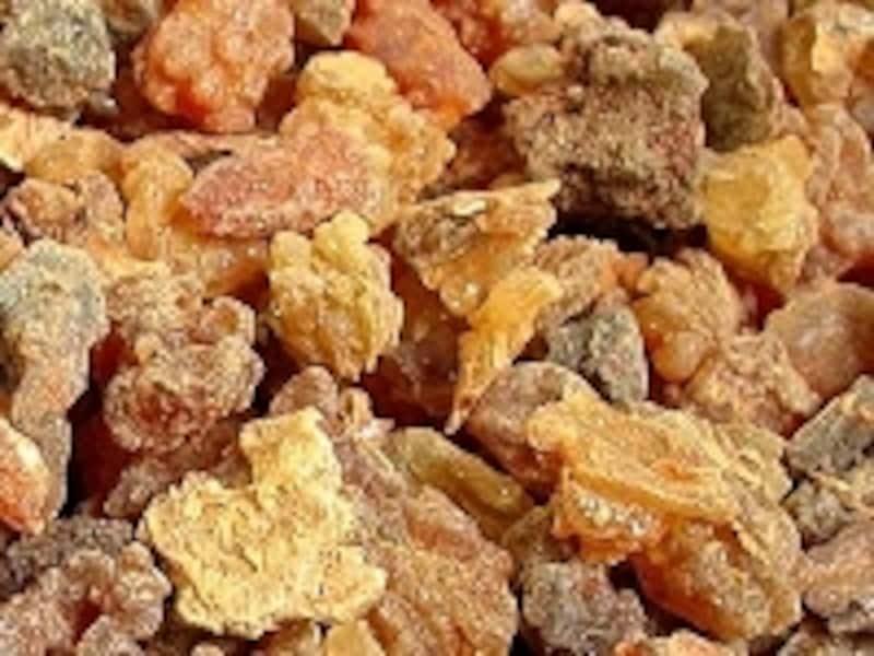 キフィに使用されていた香料の1つ、ミルラ