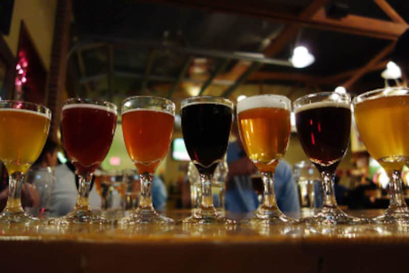 いろいろなスタイルのビール
