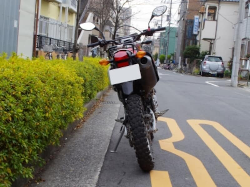 CRF250Lundefinedリアビュー2