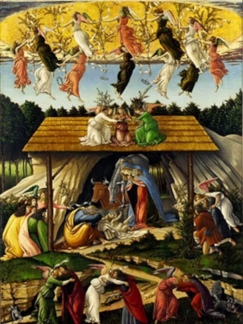 ボッティチェリ「神秘の降誕」