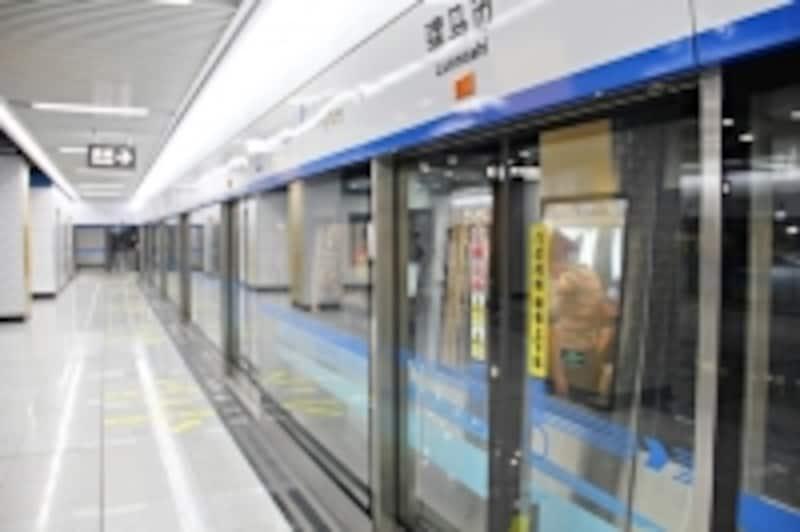 成都の地下鉄