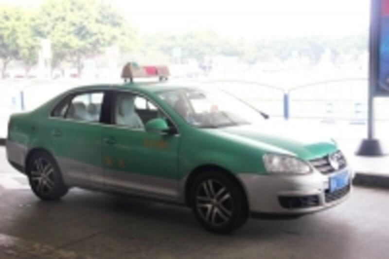 成都のタクシー