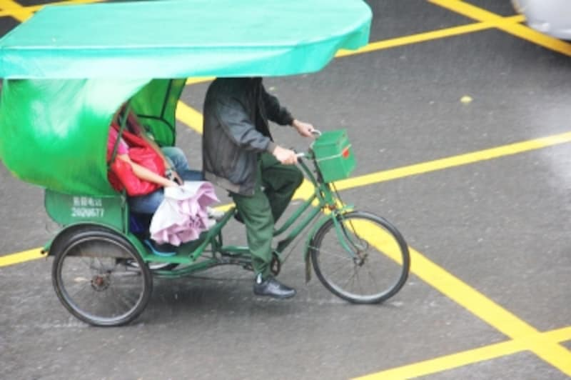 人力の三輪車