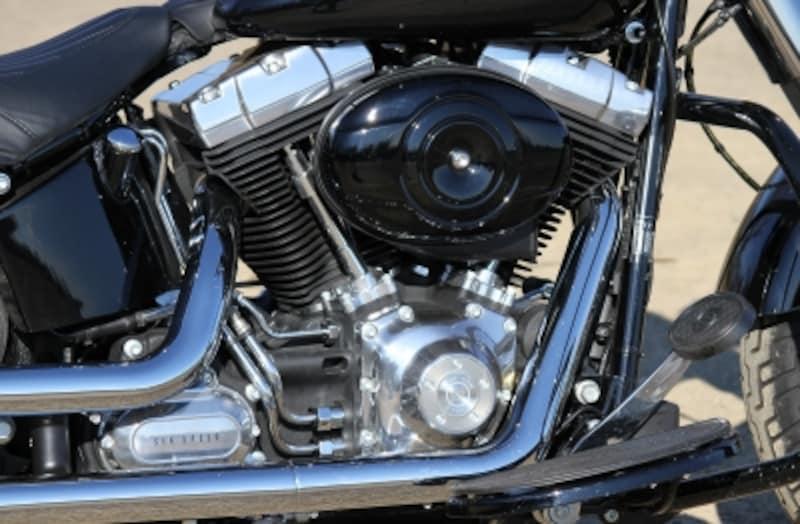 排気量1,584cc/空冷4ストロークV型2気筒OHV2バルブエンジン『ツインカム96B』
